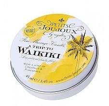 Voňavky, Parfémy, kozmetika Masážna sviečka s vôňou Piňa Colada - Petits JouJoux Mini A Trip To Waikiki