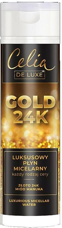 Luxusná micelárna voda - Celia De Luxe Gold 24k