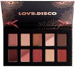 Voňavky, Parfémy, kozmetika Palety očných tieňov - Nyx Love Lust Disco Shadow Palette
