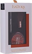 Voňavky, Parfémy, kozmetika Sada - IsaDora Bronzing Travel Kit (bronzer/3.8g + mascara/3ml + brush/1pcs)