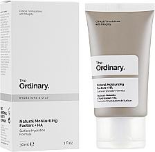 Voňavky, Parfémy, kozmetika Prírodné hydratačné faktory - The Ordinary Natural Moisturizing Factors + HA