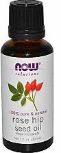 Voňavky, Parfémy, kozmetika Šípkový éterický olej - Now Foods Essential Oils 100% Pure Rose Hip Seed Oil