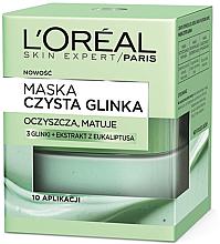 """Voňavky, Parfémy, kozmetika Maska na tvár matná """"Čistá hlina"""" - L'Oreal Paris Skin Expert"""