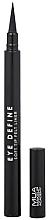 Voňavky, Parfémy, kozmetika Očná linka - MUA Eye Define Soft Tip Felt Liner