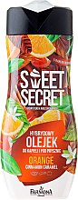 """Voňavky, Parfémy, kozmetika Sprchový a kúpeľový olej """"Orange"""" - Farmona Sweet Secret Orange"""