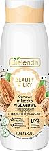 Voňavky, Parfémy, kozmetika Kúpeľové a sprchové mlieko - Bielenda Beauty Milky Regenerating Almond Shower & Bath Milk