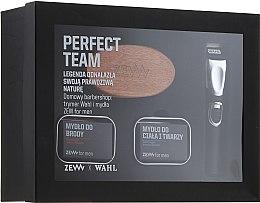 Voňavky, Parfémy, kozmetika Sada - Zew Wahl (soap/2x85ml + brush + trimmer)
