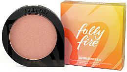 Voňavky, Parfémy, kozmetika Lícenka na tvár - Folly Fire Illuminating Blush