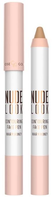 Korektor kontúrovací - Golden Rose Nude Look Contuoring Face Pen