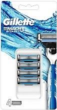 Voňavky, Parfémy, kozmetika Vymeniteľné kazety na holenie - Gillette Mach3 Start Razor Blades