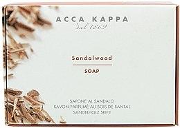 """Voňavky, Parfémy, kozmetika Mydlo - Acca Kappa """"Santalové drevo"""""""