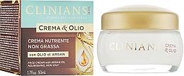 Voňavky, Parfémy, kozmetika Výživný krém - Clinians Argan Crema & Olio Cream