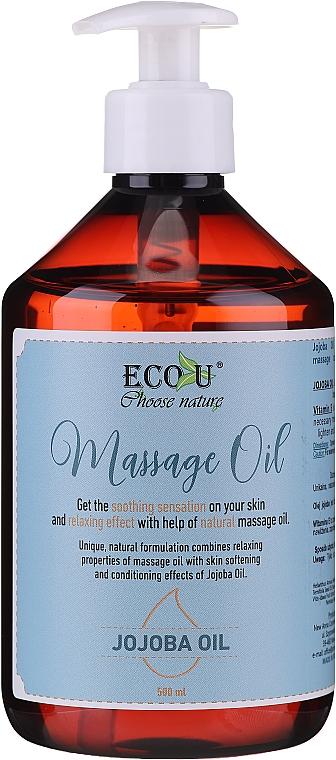 Masážny olej - Eco U Jojoba Massage Oil