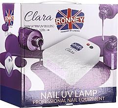 Voňavky, Parfémy, kozmetika UV lampa na nechty, svetlofialová - Ronney Profesional Clara UV 36W (GY-UV-818) Lamp