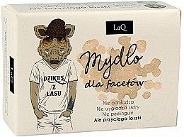 Voňavky, Parfémy, kozmetika Pánske mydlo s aktívnym uhlím - LaQ Men Soap With Activated Carbon