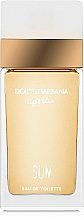 Voňavky, Parfémy, kozmetika Dolce&Gabbana Light Blue Sun Pour Femme - Toaletná voda