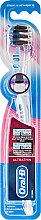 Voňavky, Parfémy, kozmetika Zubná kefka Extra Soft, modrá - Oral-B Ultrathin Precision Gum Care Black Extra Soft