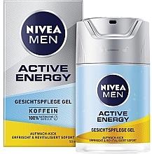 "Voňavky, Parfémy, kozmetika Gel na tvár ""Náboj energie"" - Nivea For Men Active Energy Gel"