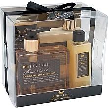 Voňavky, Parfémy, kozmetika Sada - Beeing True (sh/gel 250ml +sh/balm 250ml + bath/f 100ml + peel/100ml)