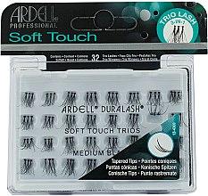 Voňavky, Parfémy, kozmetika Falošné riasy - Ardell Soft Touch Trio Individuals Medium Black