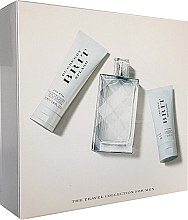 Voňavky, Parfémy, kozmetika Burberry Brit Splash for Men - Sada (edt/100ml + b/lot/75ml + sh/gel/50ml)