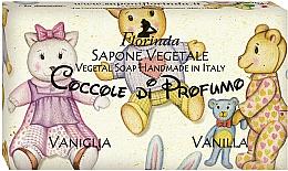 """Voňavky, Parfémy, kozmetika Prírodné mydlo """"Vanilka"""" - Florinda Sapone Vegetale Vegetal Soap Vanilla"""
