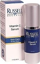 Voňavky, Parfémy, kozmetika Sérum na tvár s obsahom vitamínu C - Russell Organics Vitamin C Serum
