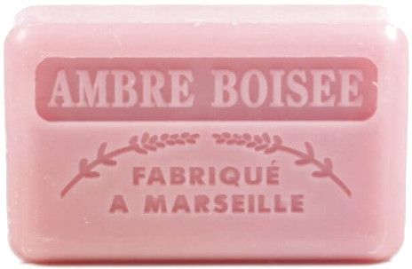 "Marseillské mydlo ""Jantárové drevo"" - Foufour Savonnette Marseillaise Ambre Boisee"