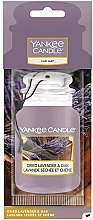 Voňavky, Parfémy, kozmetika Vôňa do auta - Yankee Candle Car Jar Dried Lavender & Oak