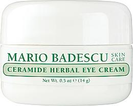 Voňavky, Parfémy, kozmetika Krém na oči - Mario Badescu Ceramide Herbal Eye Cream