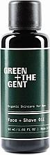 Voňavky, Parfémy, kozmetika Olej na holenie a starostlivosť o tvár - Green + The Gent Face + Shave Oil