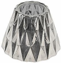 Voňavky, Parfémy, kozmetika Tienidlo na strednú sviečku - WoodWick Geometric Silver Shade