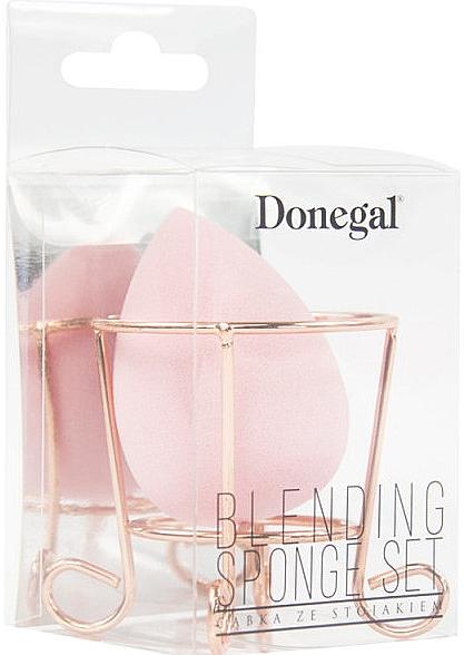 Hubka na make-up s košíkom, ružová - Donegal