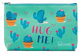 Voňavky, Parfémy, kozmetika Kozmetická taška s potlačou, tyrkysová - IDC Design Accessories Cosmetig Bag