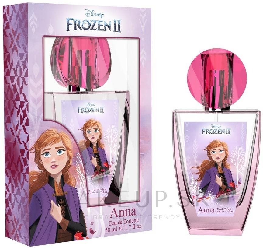 Disney Frozen II Anna - Toaletná voda — Obrázky 50 ml