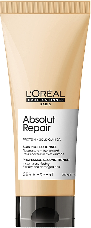 Kondicionér na vlasy - L'Oreal Professionnel Absolut Repair Gold Quinoa +Protein Conditioner