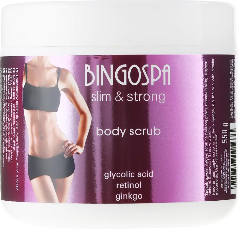 Telový peeling - BingoSpa Slim&Strong Body Scrub