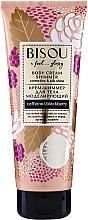 Voňavky, Parfémy, kozmetika Krémový modelujúci shimmer na telo - Bisou Collagen&Blackberry Body Cream Shimmer