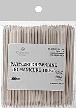 Voňavky, Parfémy, kozmetika Tyčinky z pomarančového drievka na manikúru, 100 ks - Charmine Rose