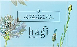 Voňavky, Parfémy, kozmetika Prírodné mydlo s mandľovým olejom - Hagi Soap