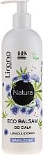 """Voňavky, Parfémy, kozmetika Hydratačný balzam na telo """"Ľan a konopný olej"""" - Lirene Natura Eco Balm"""