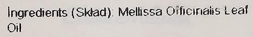"Esenciálny olej ""Melissa"" - Aromatika — Obrázky N4"