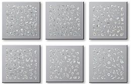Voňavky, Parfémy, kozmetika Sada nálepiek na nechty 42744 - Top Choice Nail Decorations Stickers Set
