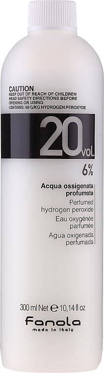 Emulzné oxidačné činidlo - Fanola Acqua Ossigenata Perfumed Hydrogen Peroxide Hair Oxidant 20vol 6%