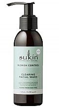 Voňavky, Parfémy, kozmetika Čistiaci gél na umývanie tváre - Sukin Blemish Control Clearing Facial Wash