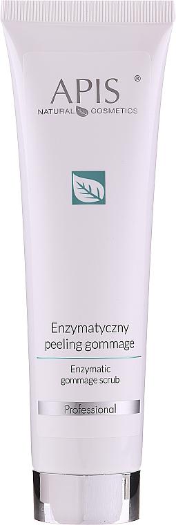 Enzýmový peeling na tvár - Apis Professional Enzymatic Gommage Scrub