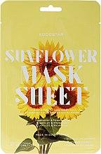 """Voňavky, Parfémy, kozmetika Plátková maska na tvár """"Slnečnica"""" - Kocostar Slice Mask Sheet Sunflower"""