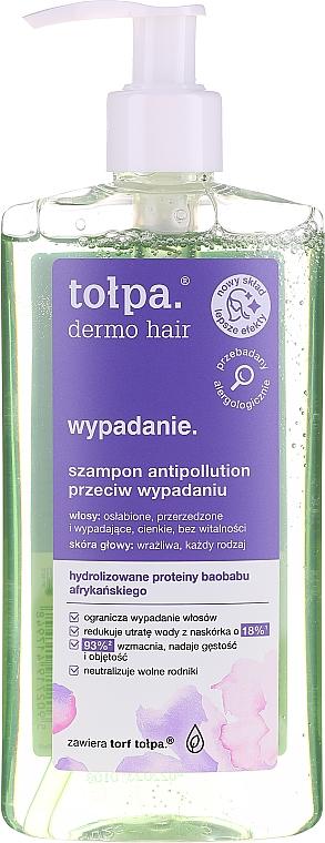 Šampón proti vypadávaniu vlasov s proteínami afrického baobabu - Tolpa Dermo Hair Anti Hairloss Shampoo