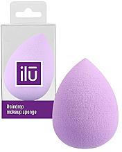 Voňavky, Parfémy, kozmetika Špongia na líčenie, fialová - Ilu Sponge Raindrop Purple
