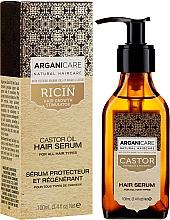 Voňavky, Parfémy, kozmetika Sérum na rast vlasov - Arganicare Castor Oil Hair Serum